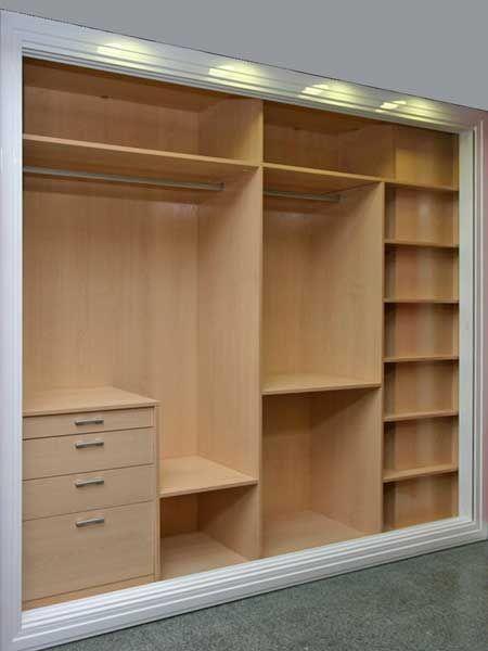 Dise os de armarios empotrados Diseno de interiores closets modernos
