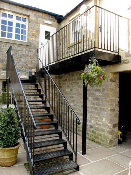 Disenos para escaleras exteriores curso de organizacion - Estructuras de hierro para casas ...