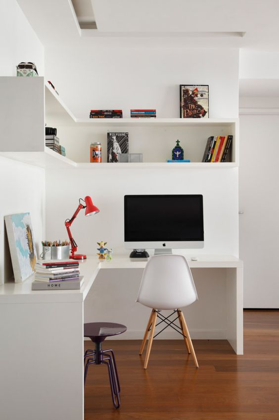 Ideas creativas para decorar tu oficina en casa 5 curso de organizacion del hogar y for Decoracion de oficinas creativas