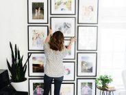 Ideas para decorar tu casa con fotos familiares