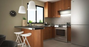 Tips de organizacion y decoracion de interiores casas - Ideas para decorar una cocina pequena ...