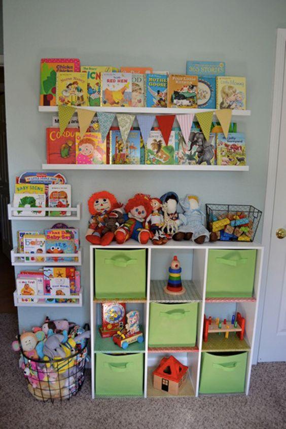 Ideas para organizar la habitacion de un ni o - Organizar habitacion ninos ...