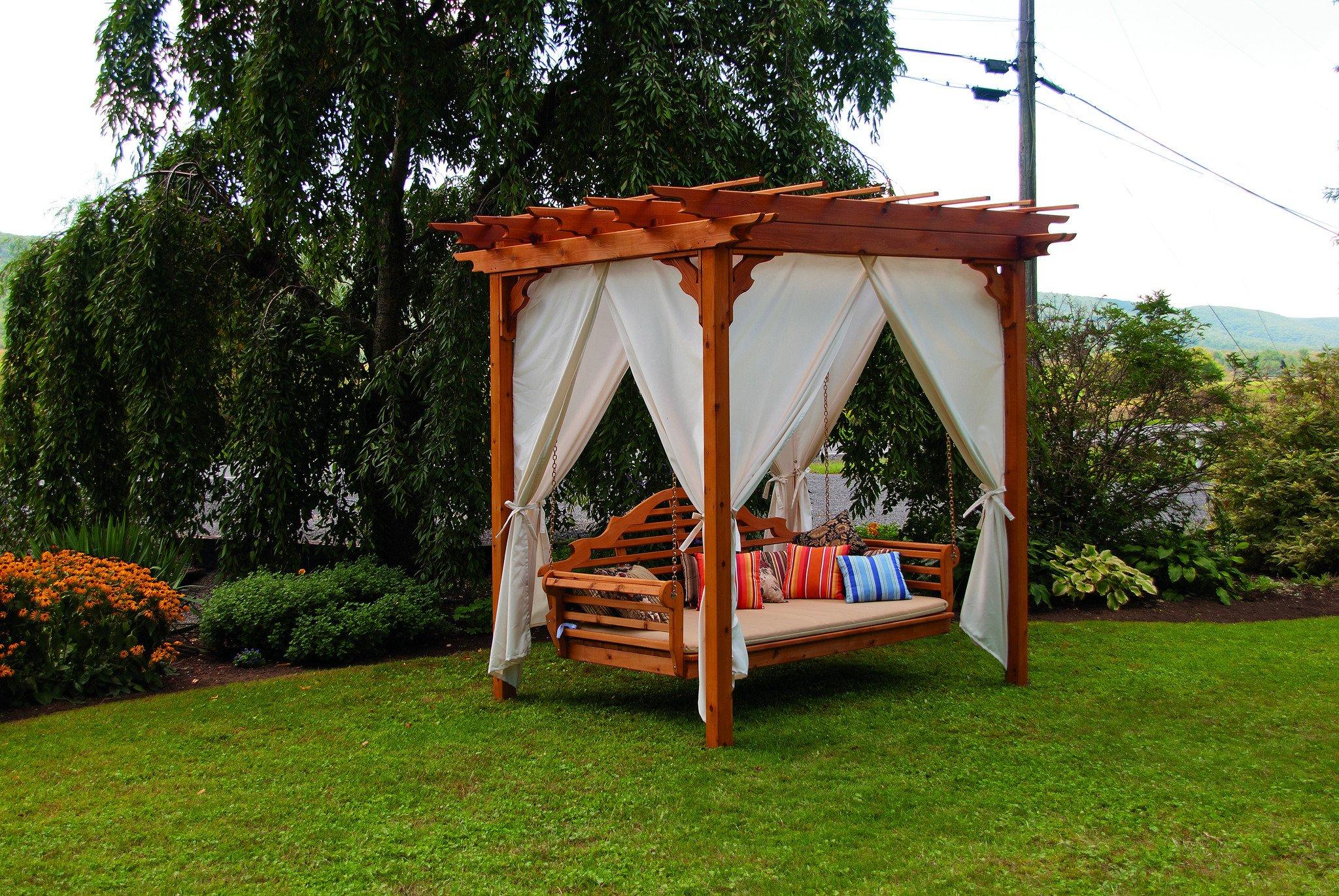 Pergolas de madera para jardines - Curso de Organizacion del hogar y ...