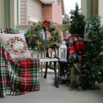 Propuestas novedosas de decoración de navidad 2017 - 2018 porche