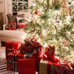 Propuestas novedosas de decoración de navidad 2017 - 2018 area de regalos