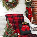 Propuestas novedosas de decoración de navidad 2017 - 2018 mesedora