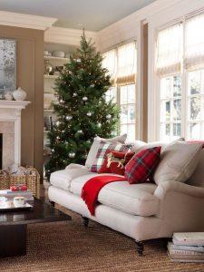 Propuestas novedosas de decoración de navidad 2017 - 2018 sala