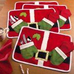 Salvamanteles navideños 2017 - 2018 de santa clous