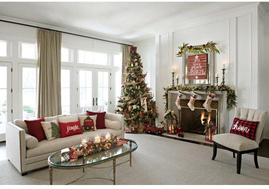 Como decorar tu sala esta navidad 2019 2020 Decoracion de interiores 2018 salas