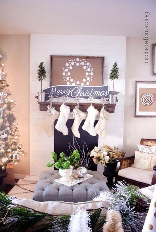 Como decorar tu sala esta navidad 2017 - 2018 (3)