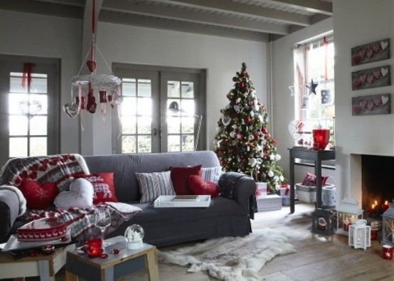 Como decorar tu sala esta navidad 2017 - 2018 (4)