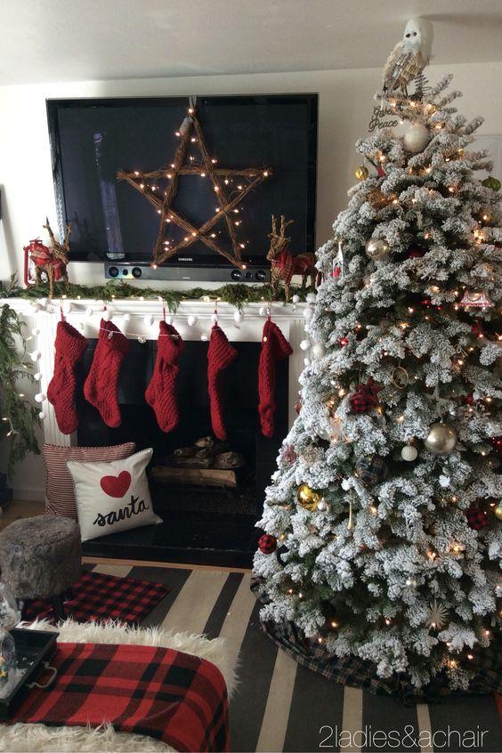 Como decorar tu sala esta navidad 2017 - 2018 (5)
