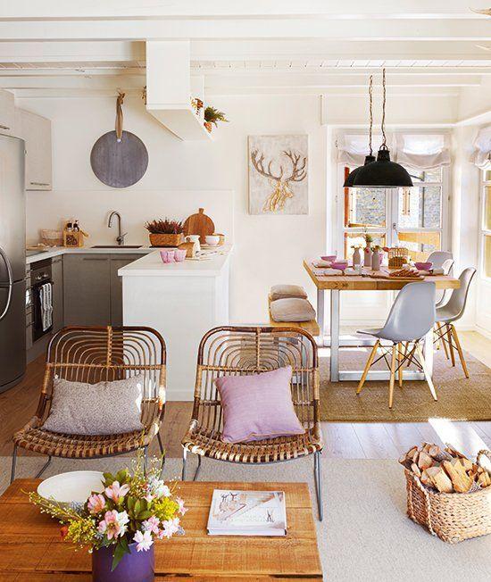 Decoracion de Sala-Comedor y Cocina en una Sola Habitacion (15)