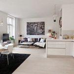 Decoracion de Sala-Comedor y Cocina en una Sola Habitacion (5)