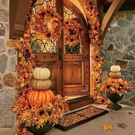 Decoracion de puertas para accion de gracias (2)