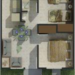 Decoracion de una casa de infonavit de 38 m cuadrados (5)
