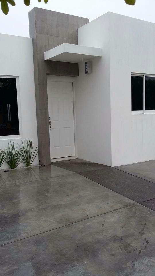 Fachadas para casas peque as 12 curso de organizacion - Decoracion de fachadas ...