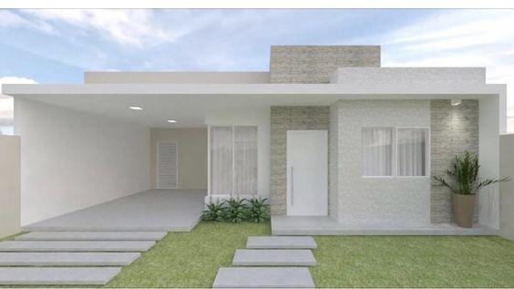 Fachadas para casas peque as 7 curso de organizacion for Decoracion de fachadas de casas pequenas