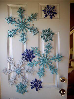Ideas de decoración navideña de frozen 2017 - 2018 (1)
