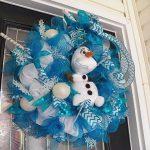 Ideas de decoración navideña de frozen 2017 - 2018 (16)