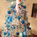 Ideas de decoración navideña de frozen 2017 - 2018 (21)