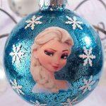 Ideas de decoración navideña de frozen 2017 - 2018 (24)