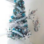 Ideas de decoración navideña de frozen 2017 - 2018 (25)