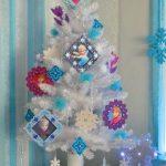 Ideas de decoración navideña de frozen 2017 - 2018 (34)