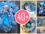 Ideas de decoración navideña de frozen 2017 – 2018