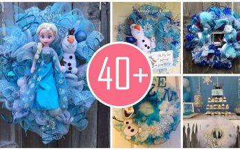 Ideas de decoración navideña de frozen 2017 – 2018