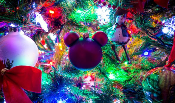 Ideas de decoracion para navidad con Mickey Mouse