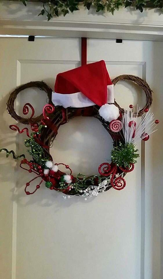 Ideas de decoracion para navidad con Mickey Mouse (4)