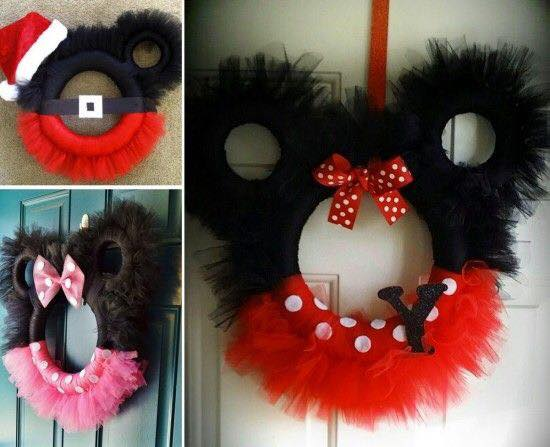 Ideas de decoracion para navidad con Mickey Mouse (6)