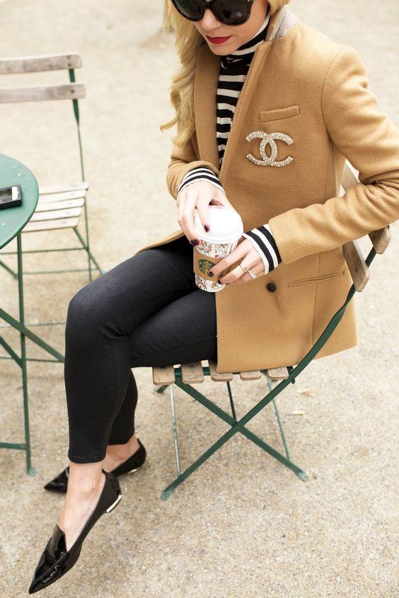 Ideas de outfits de invierno ideales para ir a trabajar (14)