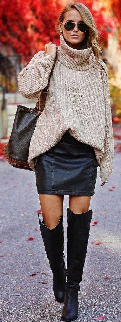 Ideas de outfits de invierno ideales para ir a trabajar (15)