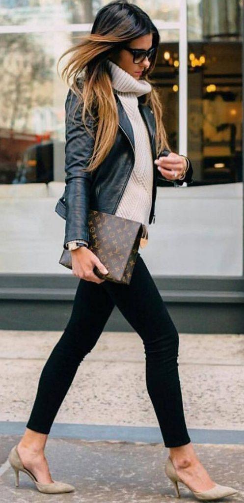 Ideas de outfits de invierno ideales para ir a trabajar (16)