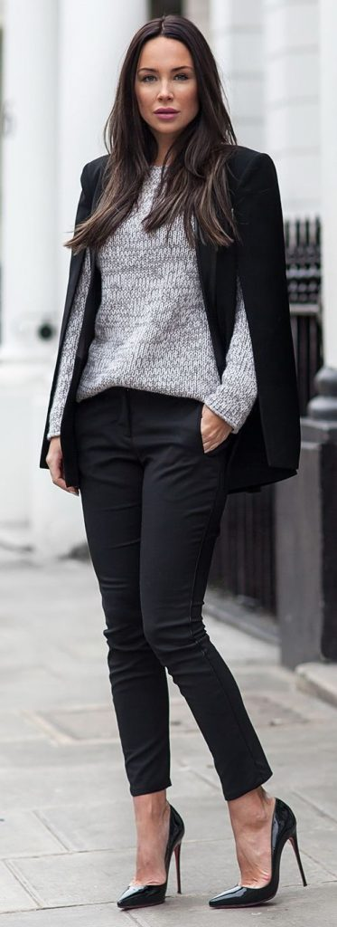 Semi Casual London Style