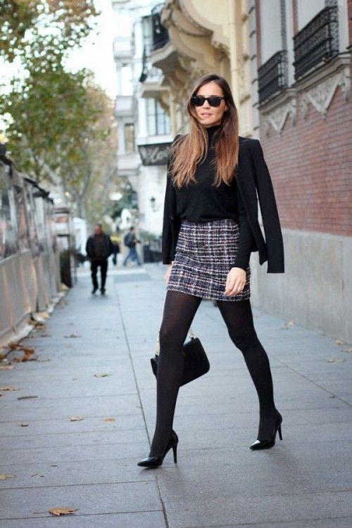 Ideas de outfits de invierno ideales para ir a trabajar (18)