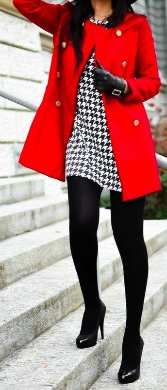 Ideas de outfits de invierno ideales para ir a trabajar (20)