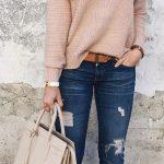 Ideas de outfits de invierno ideales para ir a trabajar (23)