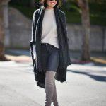 Ideas de outfits de invierno ideales para ir a trabajar (4)