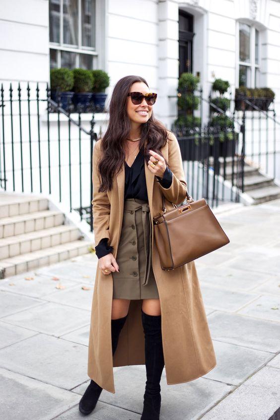 Ideas de outfits de invierno ideales para ir a trabajar (5)