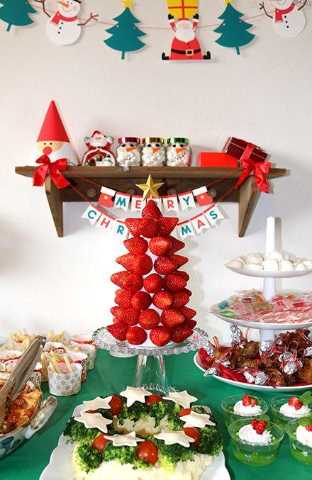 Mesas de postres para la cena de navidad 2017 - 2018 Te van a encantar (12)