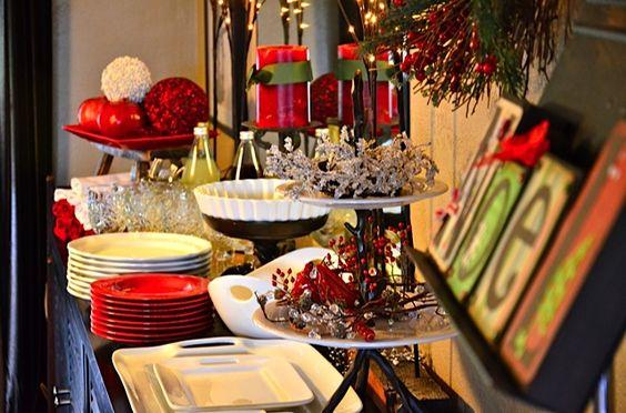 Mesas de postres para la cena de navidad 2017 - 2018 Te van a encantar (16)