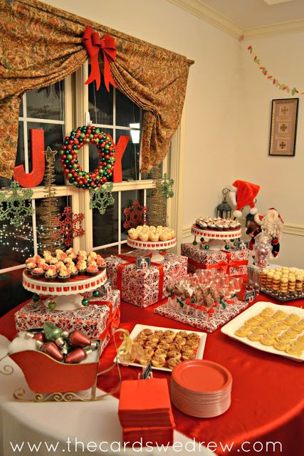 Mesas de postres para la cena de navidad 2017 - 2018 Te van a encantar (19)