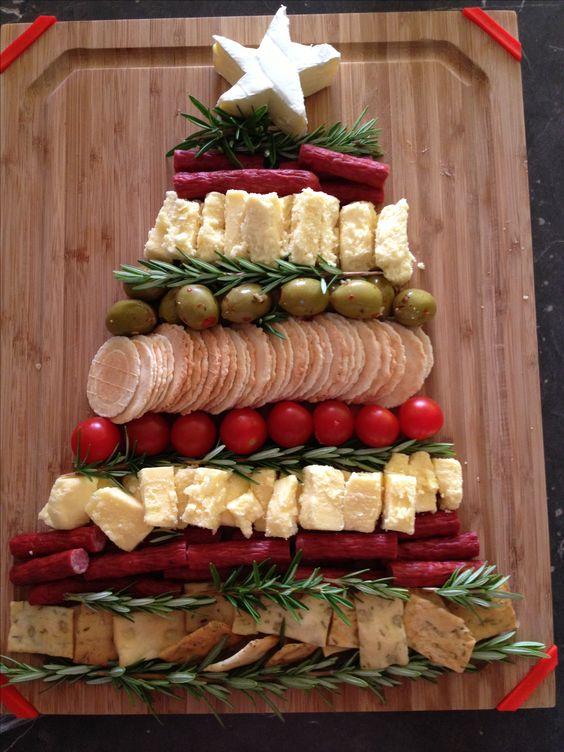 Mesas de postres para la cena de navidad 2017 - 2018 Te van a encantar (28)