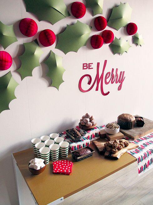 Mesas de postres para la cena de navidad 2017 - 2018 Te van a encantar (7)