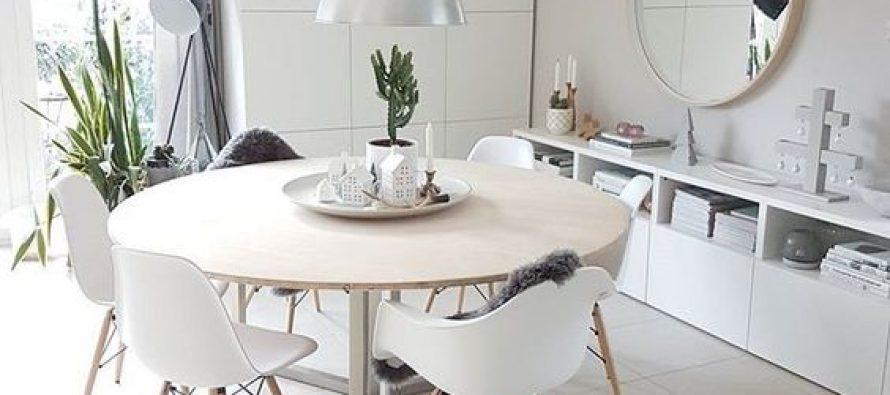 Mesas redondas para comedores