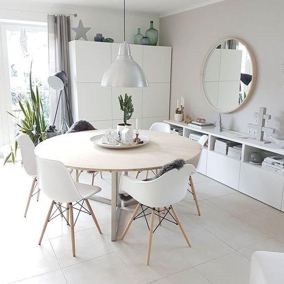 Decoracion de casas con sala y comedor juntos curso de for Mesas de salon redondas extensibles