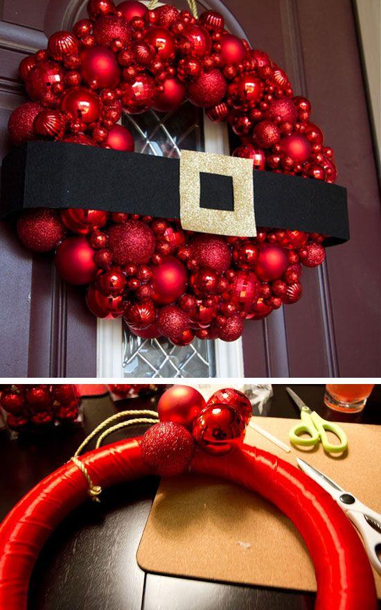 Paso a Paso para Decorar las Puertas en Navidad (11)